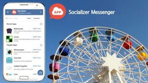 Socializer Messenger, WhatsApp Samsung