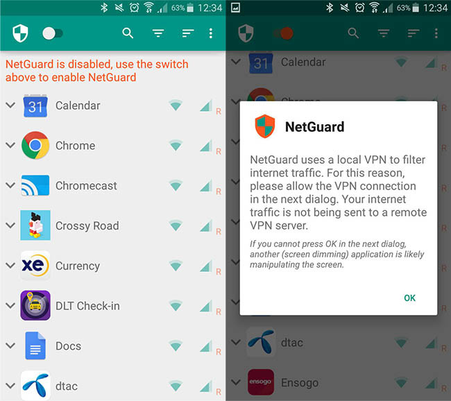 Block Advertising Android Without Root With Netguard